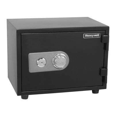 0.55 cu. ft. Fire Resistant Safe with Dual Combination and Key Lock Security