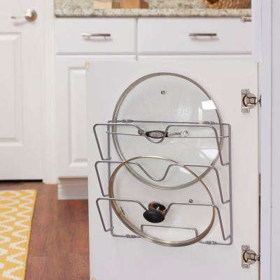 Oversize Lid Holder with Nickel Door Mount