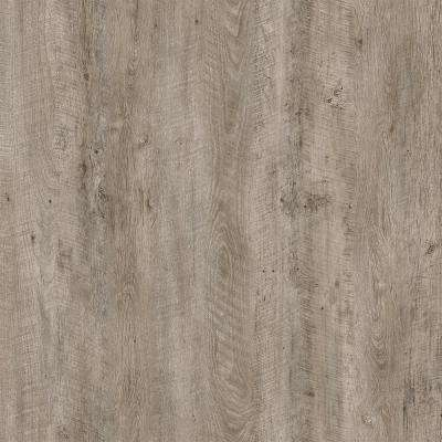 Take Home Sample - Cotton Wood Valley Beige and Grey Luxury Rigid Vinyl Plank Flooring - 4 in. x 4 in.