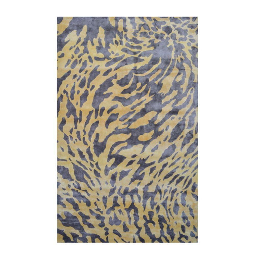 Sabra Yellow 5 ft. x 8 ft. Indoor Area Rug