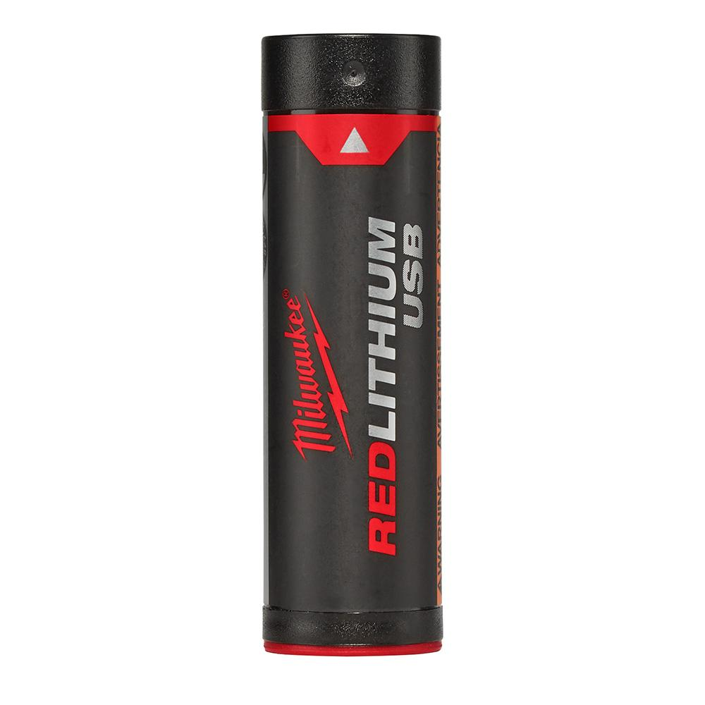 Milwaukee REDLITHIUM Lithium-Ion Rechargeable USB 2.5 AH Battery