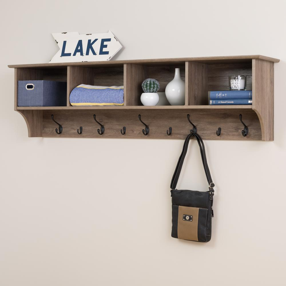 mounted with uline shelf ca bl in stock wall rack coat