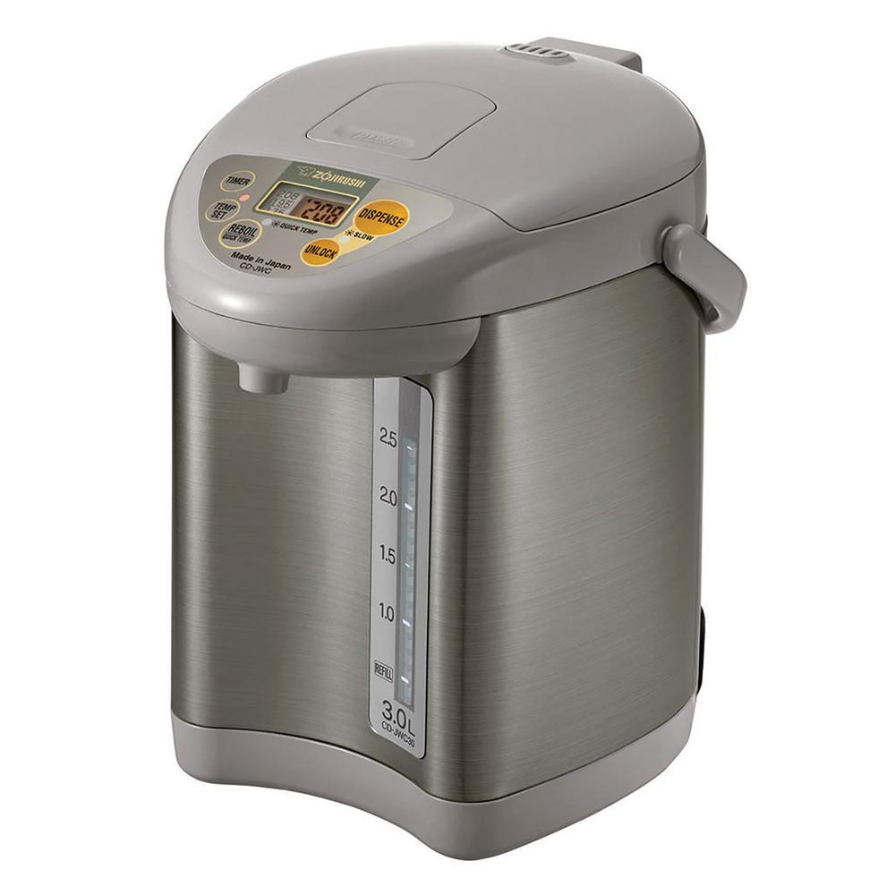 Zojirushi Micom Water Boiler and Warmer-CD-JWC30HS - The Home Depot