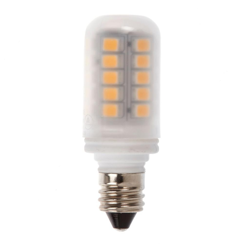 Home Depot Led Light Bulbs: Newhouse Lighting 20W Equivalent Soft White E11 LED Light