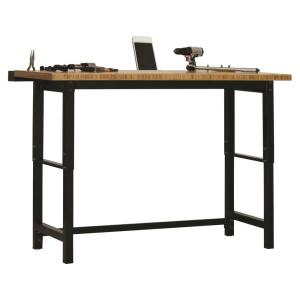Astonishing Edsal 7 5 Ft Bamboo Top Workbench Wb362490 The Home Depot Evergreenethics Interior Chair Design Evergreenethicsorg