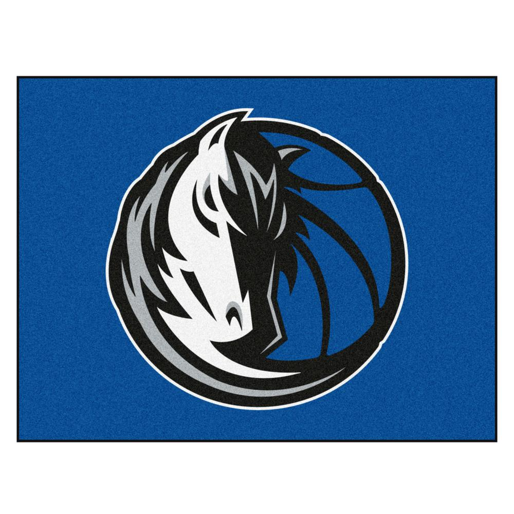 b2d2d0537f3 NBA - Dallas Mavericks Blue 2 ft. 9 in. x 3 ft. 6 in. Indoor All Star Mat  Area Rug