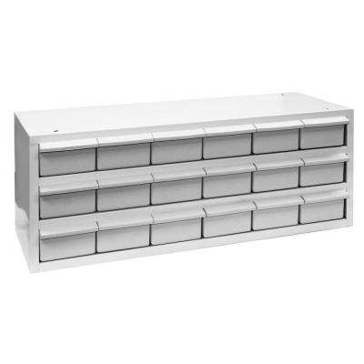 18-Compartments Drawer Small Parts Organizer Cabinet