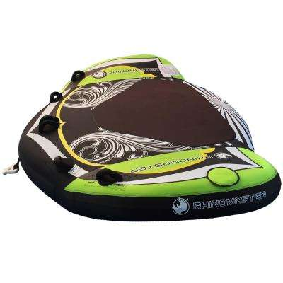 Seadragon 3-Person Inflatable Towable with Rugged Construction for Lake and Ocean Boating