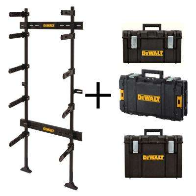 ToughSystem 25-1/2 in. Workshop Racking Storage System with 3 ToughSystem Tool Boxes