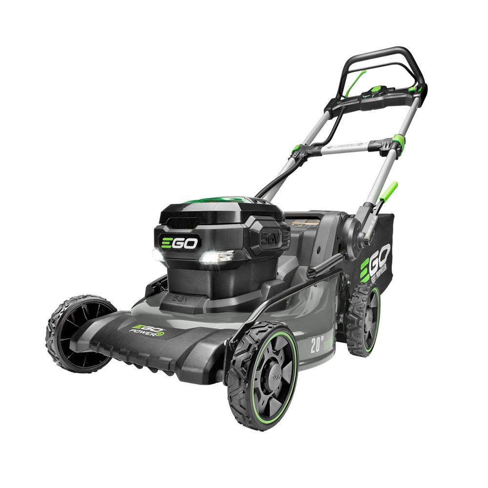 Best Self Propelled Lawn Mowers 2020 EGO 20 in. 56 Volt Lith ion (Brushless) Cordless Walk behind Steel