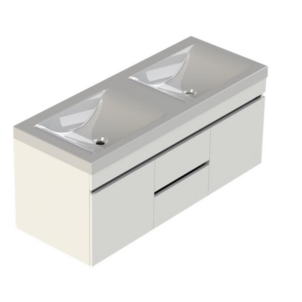 Lift Bridge Kitchen Bath Viteli Siena 48 In W X 19 In D Bath