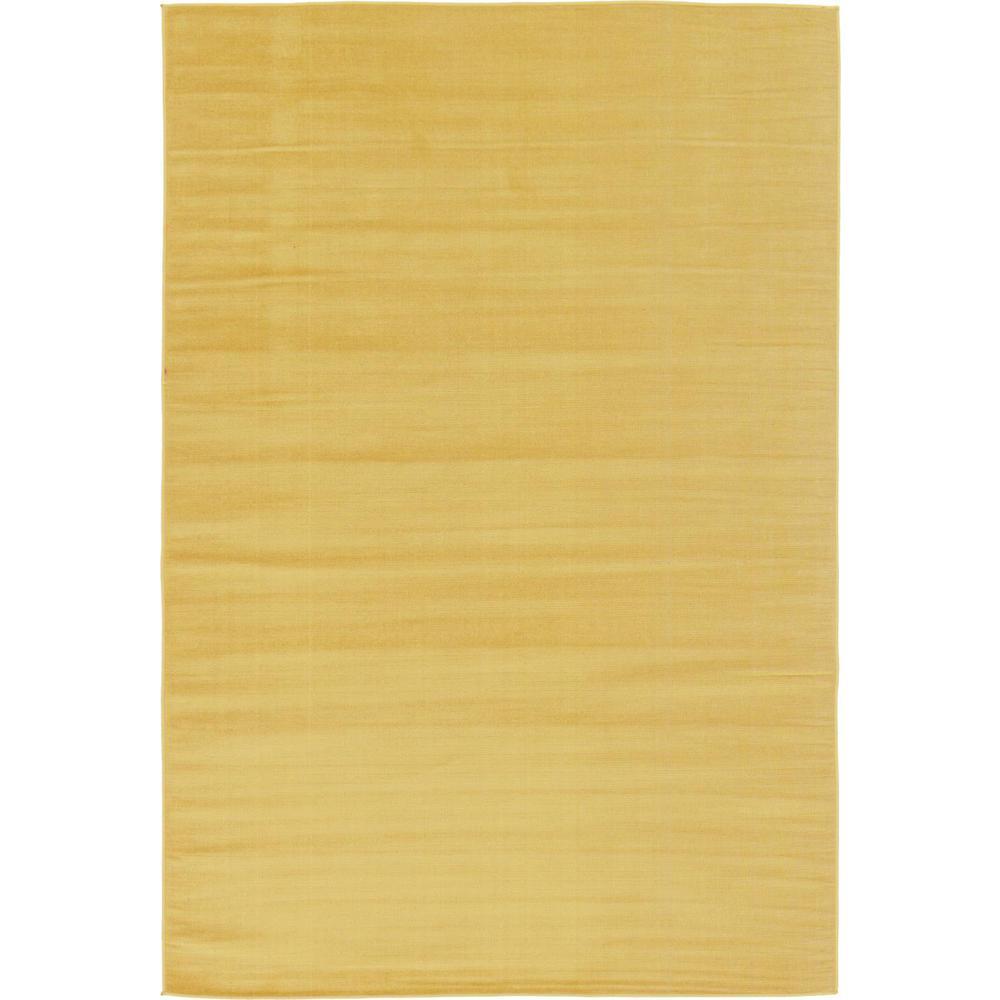 Williamsburg Solid Gold 6' 0 x 9' 0 Area Rug