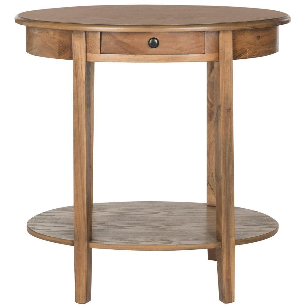 Monica Oak End Table