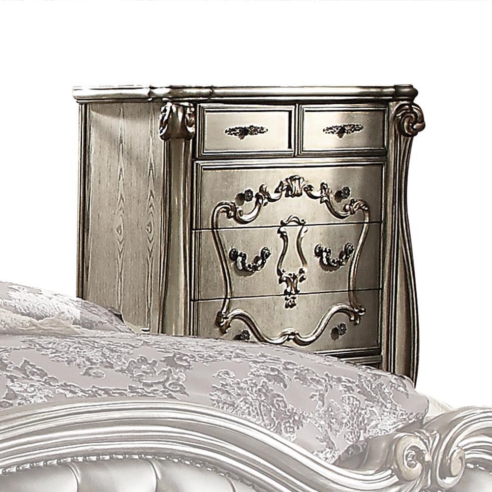 Versailles Antique Platinum Chest