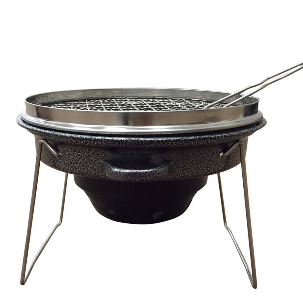 Internet 302245481 Outdoor Tailgating Grill Portable Stainless Steel And Carbon Charcoal