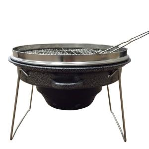 Outdoor Tailgating Grill - Portable Stainless Steel and Carbon Steel Charcoal...