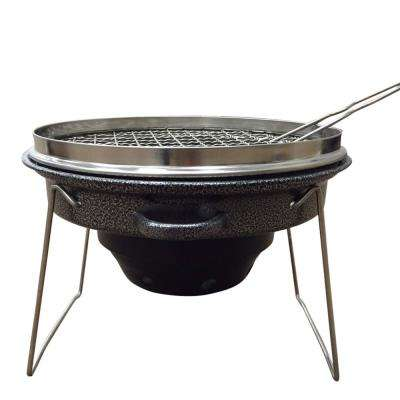 Outdoor Tailgating Grill - Portable Stainless Steel and Carbon Steel Charcoal Grill