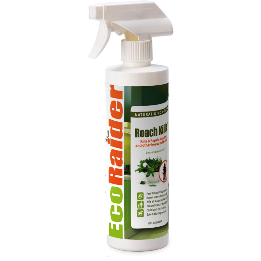EcoRaider Roach Killer and Repellent (16 oz.), Natural and Non-Toxic