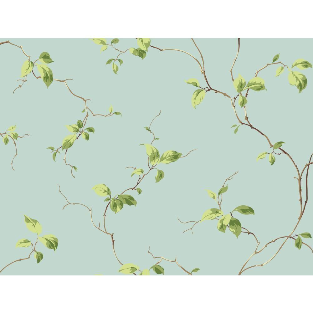 Casabella II Leaves Sidewall Wallpaper