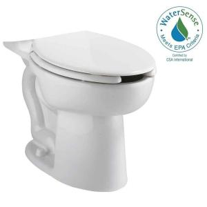 American Standard Cadet EverClean Right Height Elongated Pressure-Assisted Toilet Bowl Only in White by American Standard