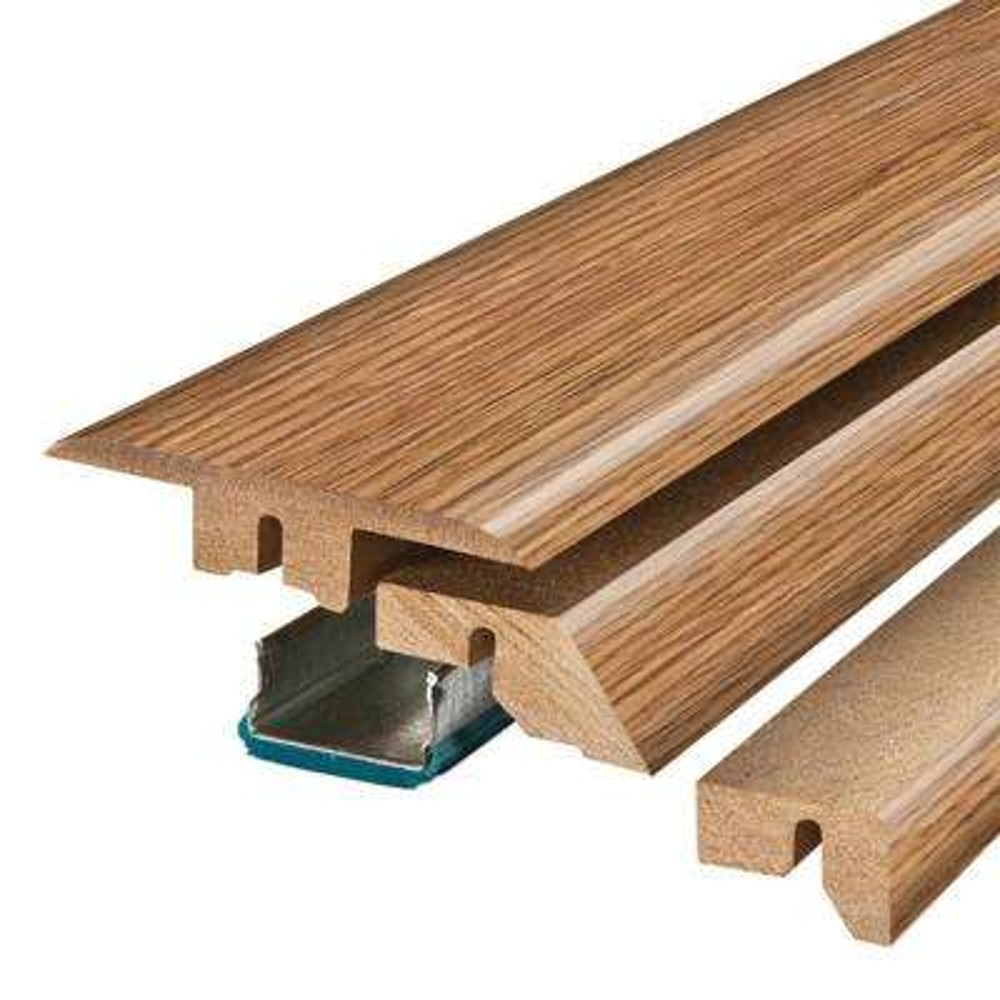 Grand Oak/Royal Oak 3/4 in. Thick x 2-1/8 in. Wide x 78-3/4 in. Length Laminate 4-in-1 Molding