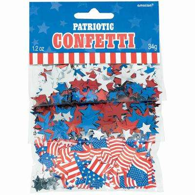 Star Spangled Banner Confetti (4-Pack)