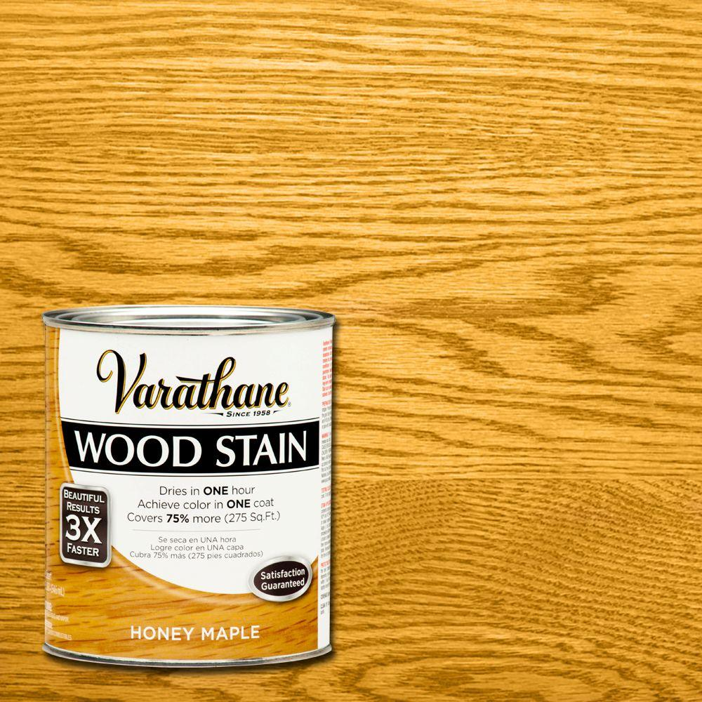 1 qt. 3X Honey Maple Premium Wood Stain (Case of 2)