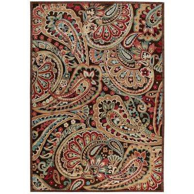 Graphic Illusions Multicolor 8 ft. x 11 ft. Area Rug