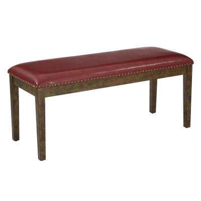 Red Langston Bench
