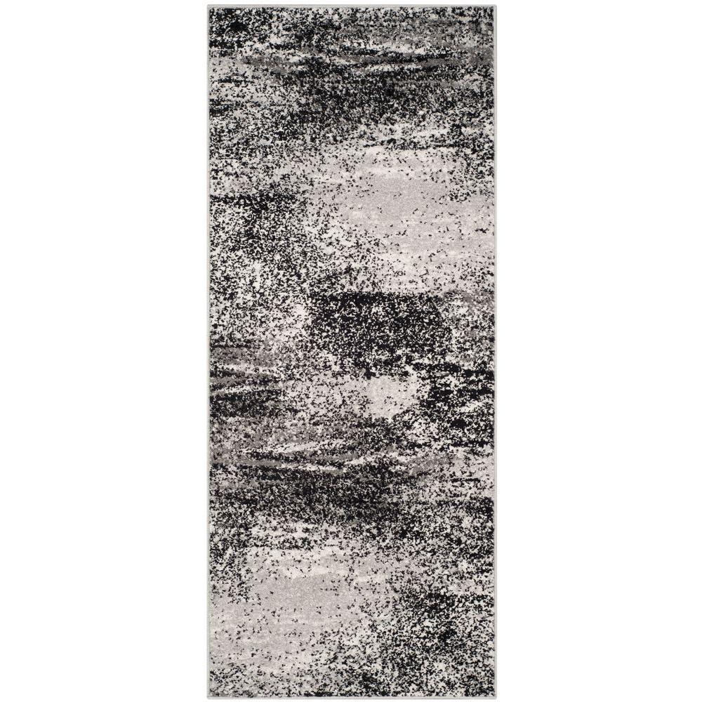 Adirondack Silver/Multi 3 ft. x 10 ft. Runner Rug