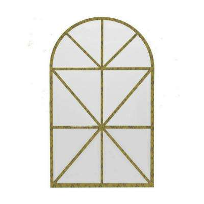 43.5 in. Metal Wall Mirror Decoration