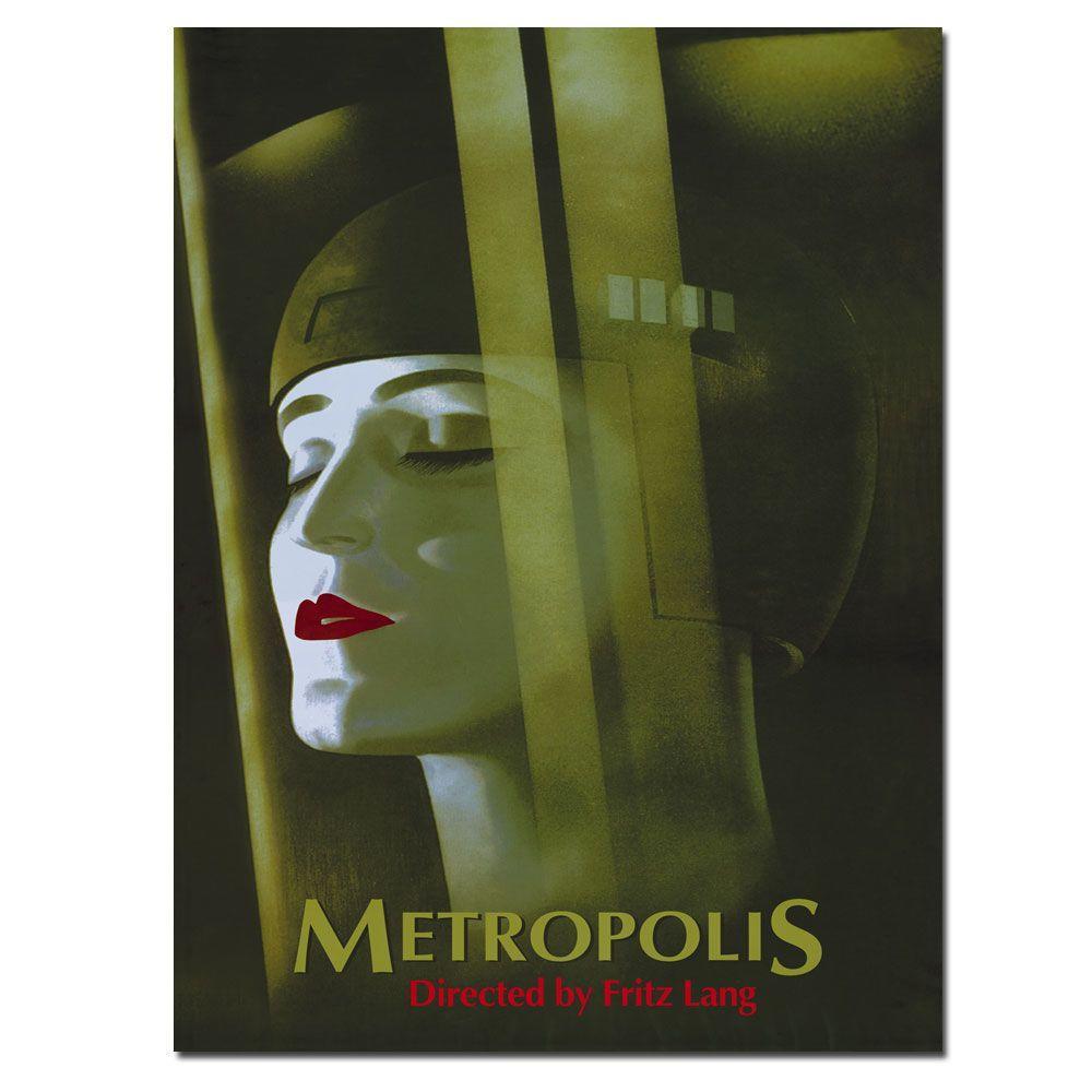 Trademark Fine Art 32 in. x 24 in. Metropolis by Werner Graul Canvas Art