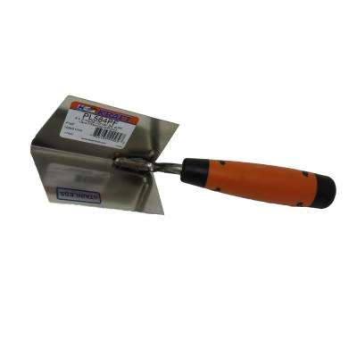4 in. x 2 in. Stainless Steel Inside Corner Trowel with Proform Handle
