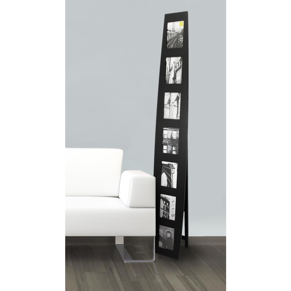 "kieragrace KG Summit Standing Collage Frame - 9"" by 64"", Black"