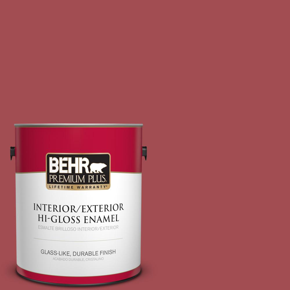 1 gal. #PPU1-07 Powder Room Hi-Gloss Enamel Interior/Exterior Paint