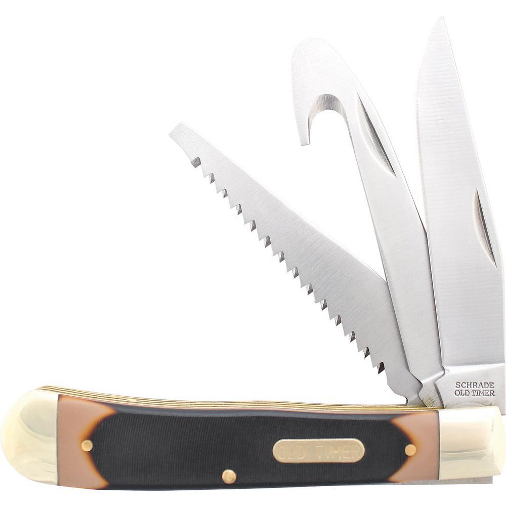 Old Timer Premium Trapper Folding Pocket Knife