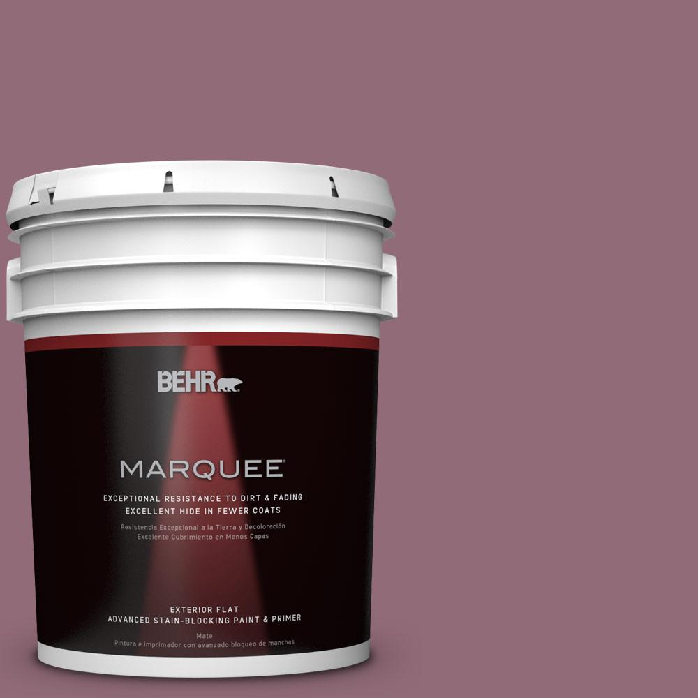 5-gal. #S120-6 Full Glass Flat Exterior Paint