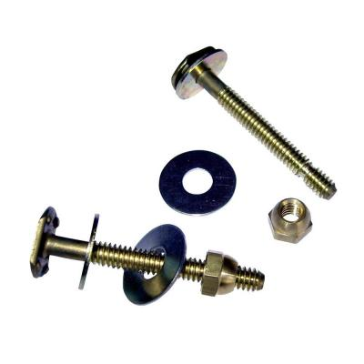 Johni-Bolts 1/4 in. x 2-1/4 in. Brass Toilet Bolts