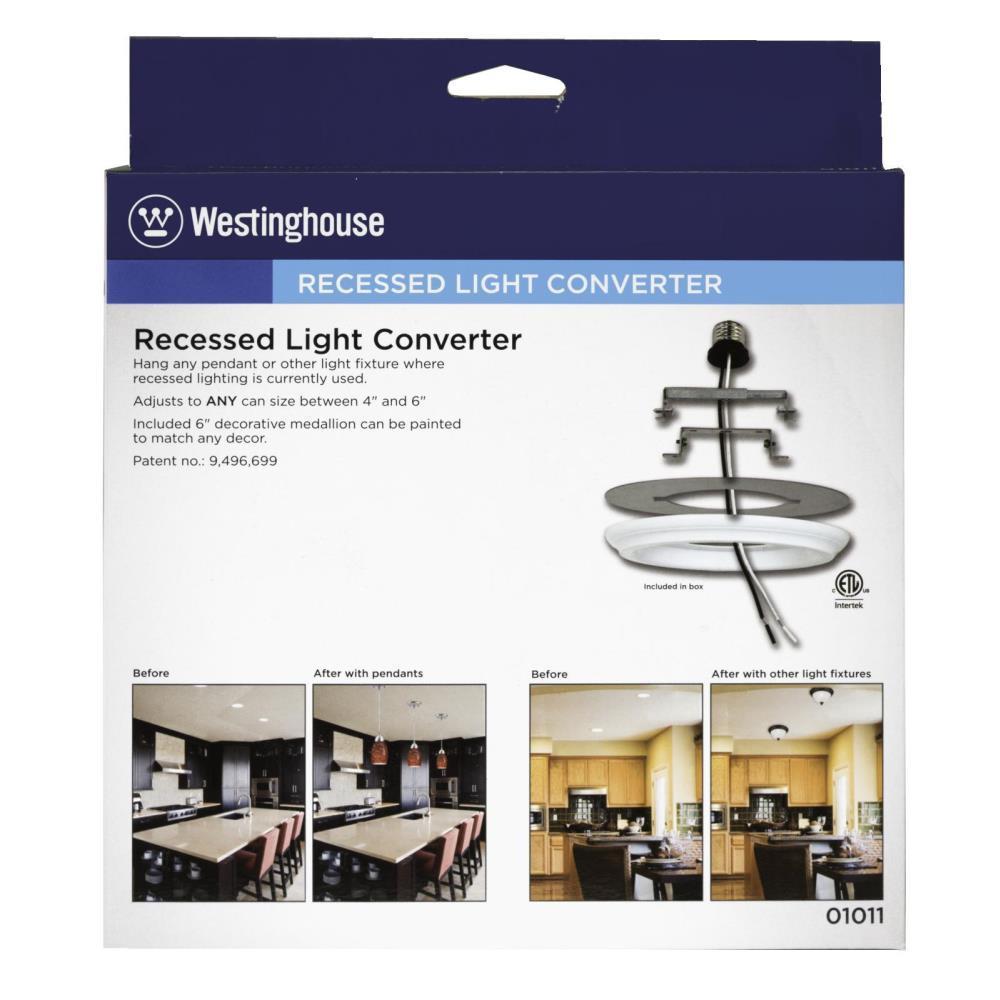 Recessed Light Converter For Pendant