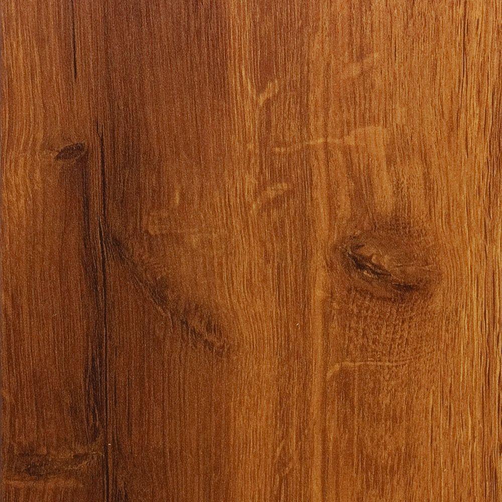 Hampton Bay Hawaiian Koa Caramel 8 mm Thick x 5-1/2 in. Wide x 47-7/8 in. Length Laminate Flooring (14.63 sq. ft. / case)