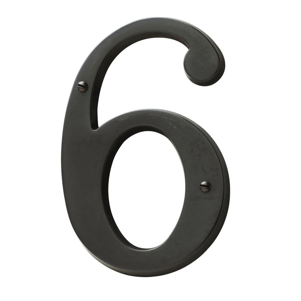 Baldwin In OilRubbed Bronze House Number CD The - Cheap metal house numbers