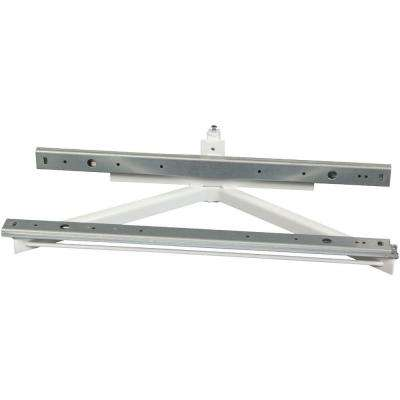 9 in. x 21.5 in. x 4.75 in. Polymer Glide Out Slide and Shelf Frame Assembly for Lazy Susans