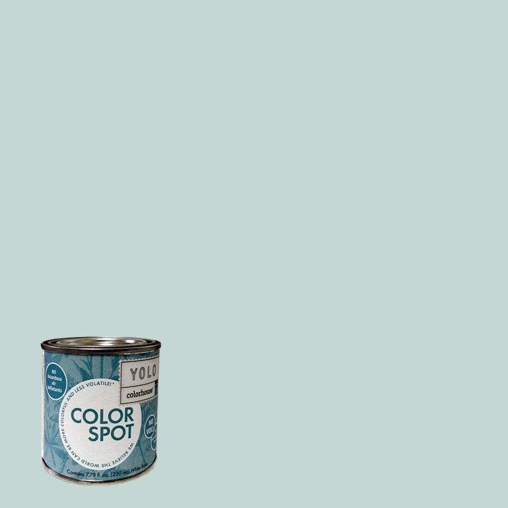 YOLO Colorhouse 8 oz. Wool .01 ColorSpot Eggshell Interior Paint Sample-DISCONTINUED