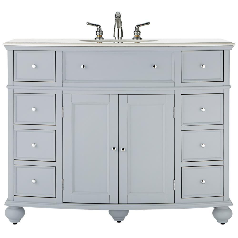 Hampton Harbor 45 in. W x 22 in. D Bath Vanity