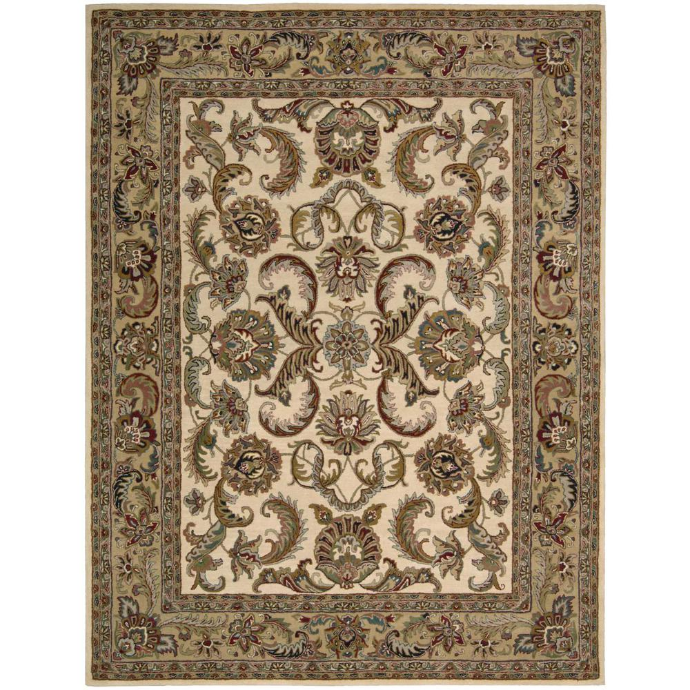 Nourison Overstock India House Ivory Gold 8 Ft X 10 6 In
