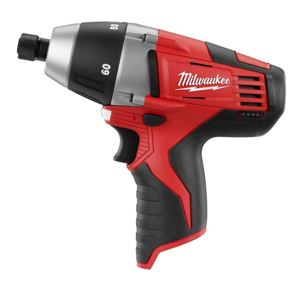M12 12-Volt Lithium-Ion 1/4 in. Cordless No-Hub Coupling Driver (Tool-Only)