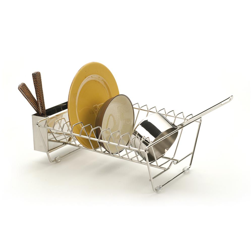 Endurance in Sink Dish Rack, Silver