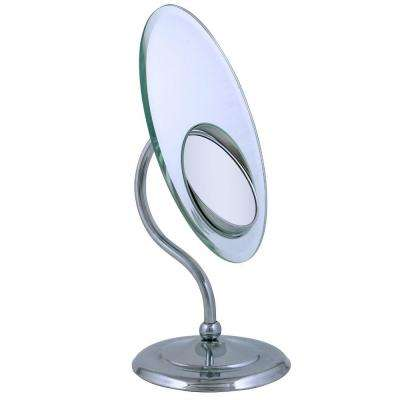 Tri Optics Oval Vanity Mirror in Chrome