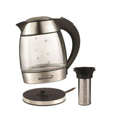 Cordless Glass Electric Tea Kettle