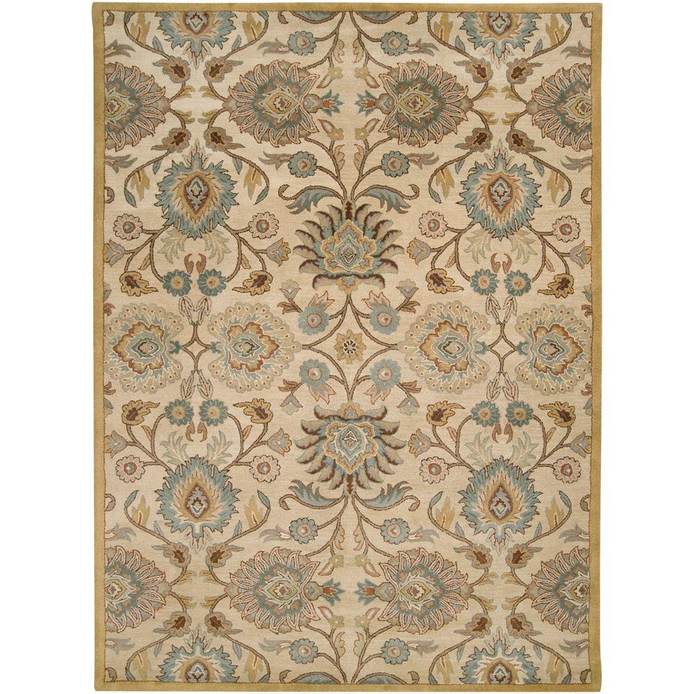 Artes Beige 7 ft. 6 in. x 9 ft. 6 in.